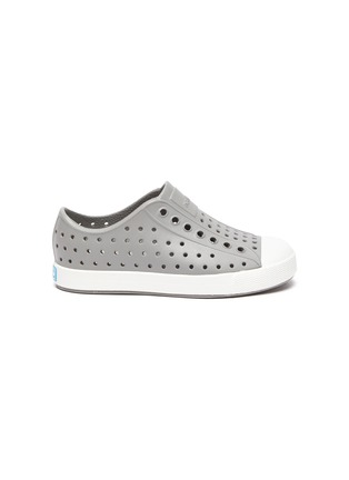 Main View - Click To Enlarge - NATIVE - 'Jefferson' Perforated Colourblock Toddler Slip-on Sneakers