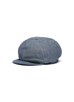 Main View - Click To Enlarge - MOSSANT - Denim newsboy cap