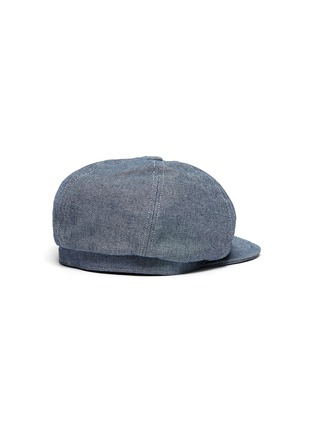 Figure View - Click To Enlarge - MOSSANT - Denim newsboy cap