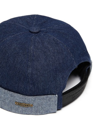 Detail View - Click To Enlarge - MOSSANT - Denim sailor hat