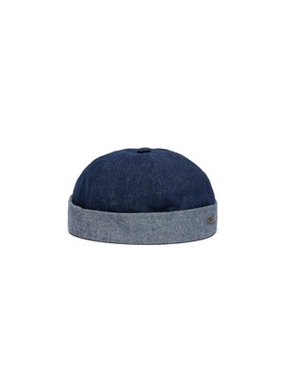 Main View - Click To Enlarge - MOSSANT - Denim sailor hat