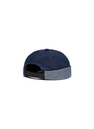 Figure View - Click To Enlarge - MOSSANT - Denim sailor hat