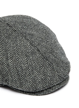 Detail View - Click To Enlarge - MOSSANT - Wool blend flat cap