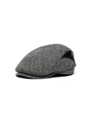 Main View - Click To Enlarge - MOSSANT - Wool blend flat cap
