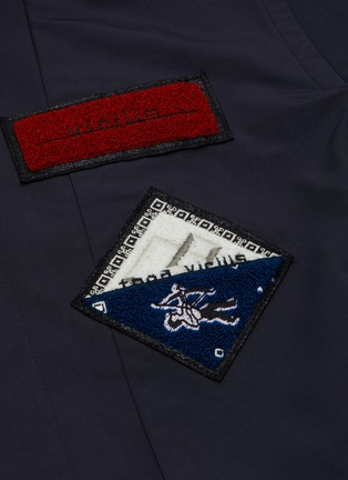 - TOGA VIRILIS - Clip buckle waist belt coat