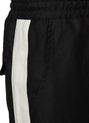 - RHUDE - 'Collegiate' side stripe track pants