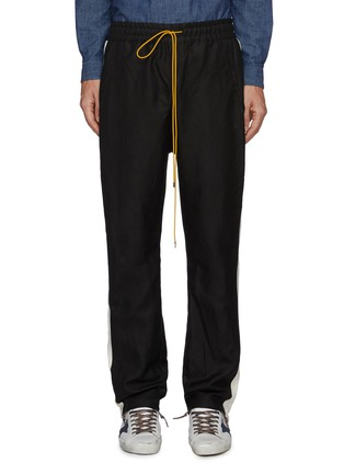 Main View - Click To Enlarge - RHUDE - 'Collegiate' side stripe track pants