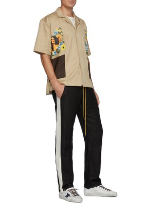 Figure View - Click To Enlarge - RHUDE - 'Cigar' graphic prints double pocket shirt