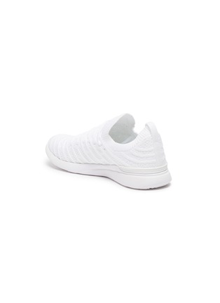 - ATHLETIC PROPULSION LABS - 'TechLoom Wave' Knitted Lace Up Running Sneakers
