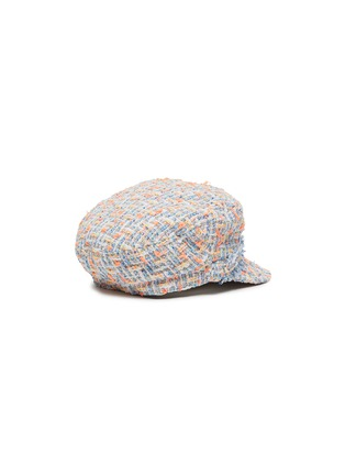Figure View - Click To Enlarge - MAISON MICHEL - New Abby' tweed kids newsboy cap