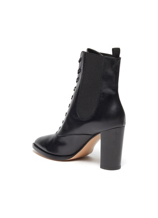 - GIANVITO ROSSI - Laceup leather boots