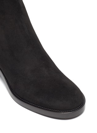 Detail View - Click To Enlarge - GIANVITO ROSSI - Suede tall boots