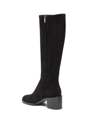 - GIANVITO ROSSI - Suede tall boots