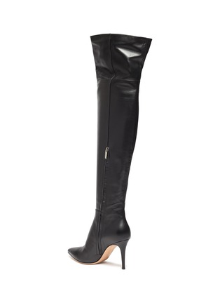 - GIANVITO ROSSI - Leather thigh high boots
