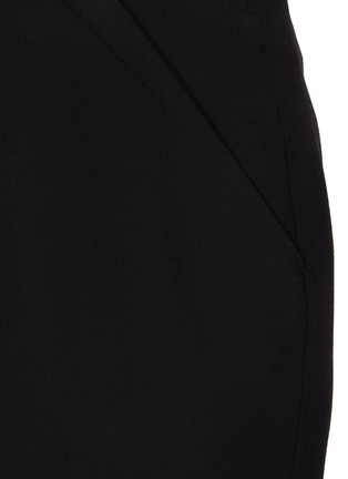 - ROLAND MOURET - 'Capel' asymmetric pencil skirt