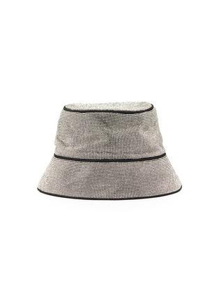 Main View - Click To Enlarge - KARA - CRYSTAL MESH BUCKET HAT