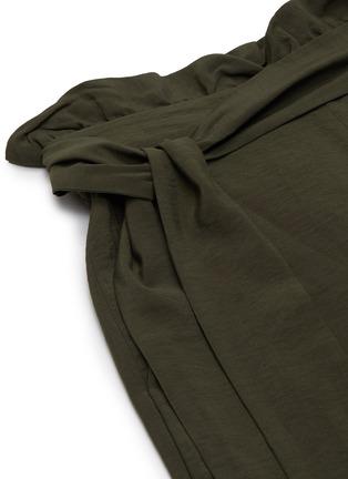 - JONATHAN SIMKHAI - Kinzley' Waist Tie High Side Slit Pants