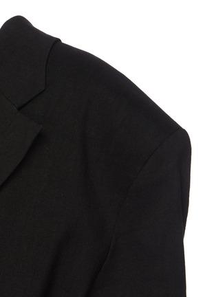 - JACQUEMUS - La Veste Camargue' pleated suit jacket