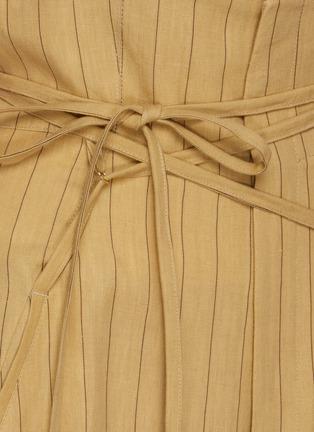 - JACQUEMUS - Le Pantalon Novio' striped suiting pants