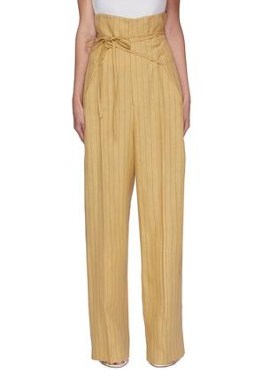 Main View - Click To Enlarge - JACQUEMUS - Le Pantalon Novio' striped suiting pants