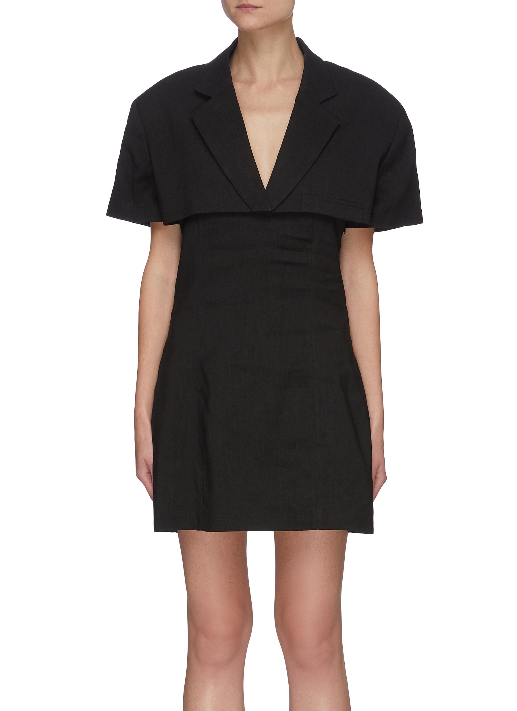 Jacquemus 'LA ROBE GARDIAN' LAYERED JACKET DRESS