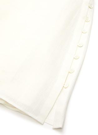 - JACQUEMUS - 'LA COMBINAISON NAPPE' Low Back Mini Dress