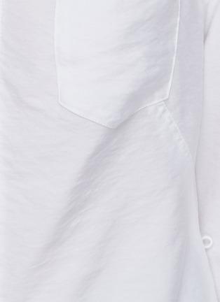 - JACQUEMUS - La Chemise Nappe' cut-out shirt