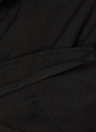- JACQUEMUS - Le Haut Santon' cropped bowling collar top