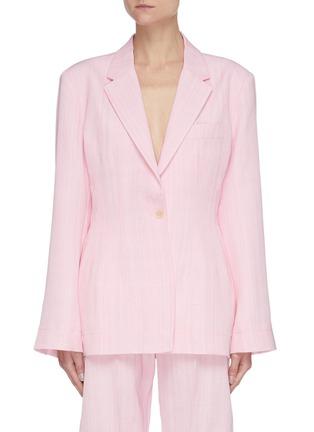 Main View - Click To Enlarge - JACQUEMUS - La Veste Novio' slim fit blazer