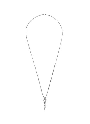 Main View - Click To Enlarge - JOHN HARDY - Classic Chain' bronze rhodium-plated sterling silver pendant necklace