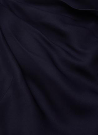 - MONSE - Drape Detail Cold Shoulder Top