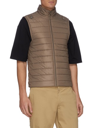 Detail View - Click To Enlarge - EQUIL - Detachable Padded Vest Parka