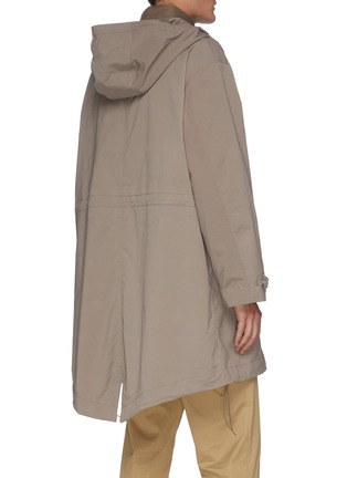 Back View - Click To Enlarge - EQUIL - Detachable Padded Vest Parka
