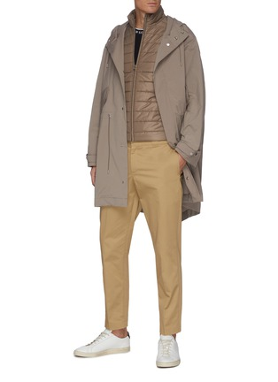 Figure View - Click To Enlarge - EQUIL - Detachable Padded Vest Parka