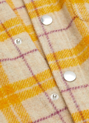 - ISABEL MARANT ÉTOILE - Faxonli check boiled wool shirt