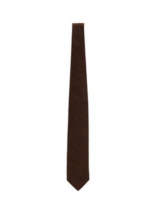 Figure View - Click To Enlarge - STEFANOBIGI MILANO - Shantung silk tie