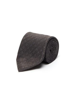 Main View - Click To Enlarge - STEFANOBIGI MILANO - Faded dots silk-linen tie