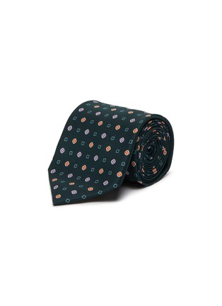 Main View - Click To Enlarge - STEFANOBIGI MILANO - Printed silk tie