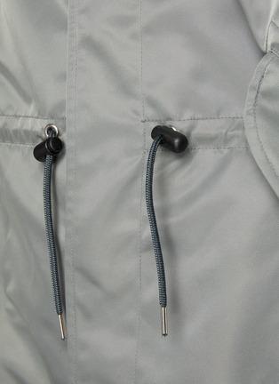 - MARNI - Drawstring waist arm logo parka