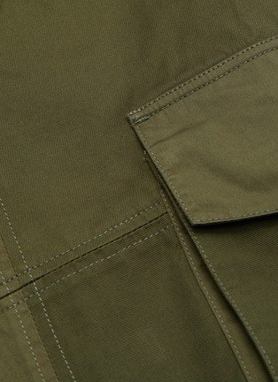 - JW ANDERSON - Belted D-ring Detail Patchwork Cargo Pants