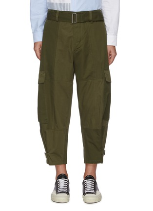Main View - Click To Enlarge - JW ANDERSON - Belted D-ring Detail Patchwork Cargo Pants
