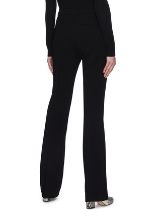 Back View - Click To Enlarge - THEORY - Flare Leg Crepe Pants