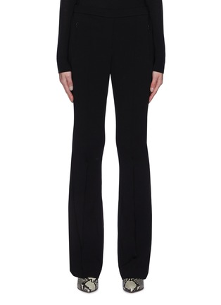 Main View - Click To Enlarge - THEORY - Flare Leg Crepe Pants