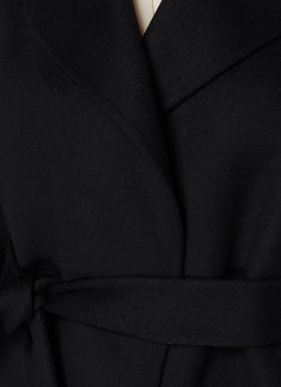 - THEORY - 'Oaklane' Belted Cashmere Short Coat