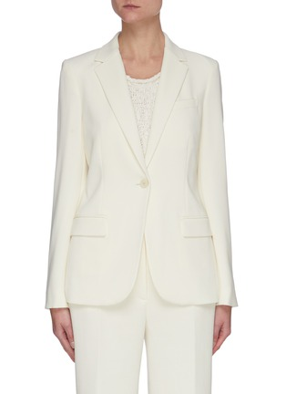 Main View - Click To Enlarge - THEORY - 'Staple' Crepe Blazer