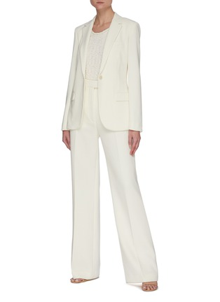 Figure View - Click To Enlarge - THEORY - 'Staple' Crepe Blazer
