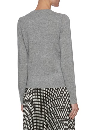 Back View - Click To Enlarge - THEORY - Cashmere henley sweater