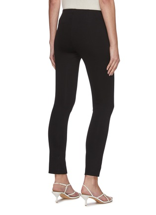 Back View - Click To Enlarge - THEORY - Core scuba slit leggings