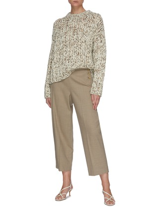 Figure View - Click To Enlarge - THEORY - Hand-knit wool sweater