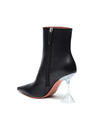 - AMINA MUADDI - ''Giorgia' clear heel leather boots